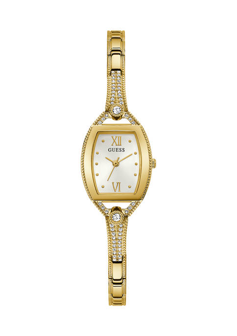 GUESS® 10 Meter Water Resistant Gold Tone Case