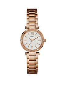 Women's Rose Gold-Tone Petite Dress Watch