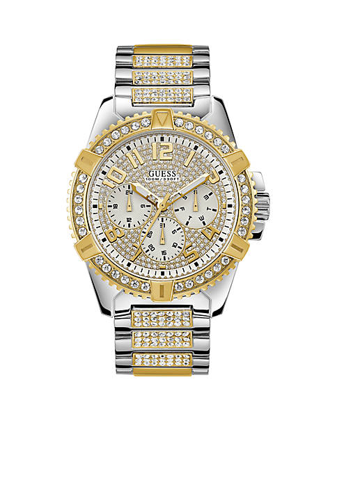 Silver And Gold-Tone Showstopping Presence Watch
