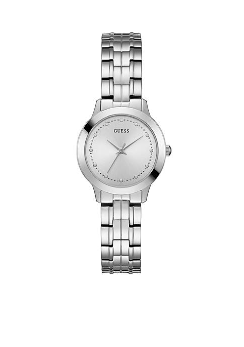 GUESS® Womens Stainless Steel Chelsea Slim Classic Watch