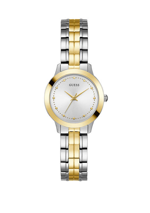 GUESS® Womens Chelsea 2-Tone Watch