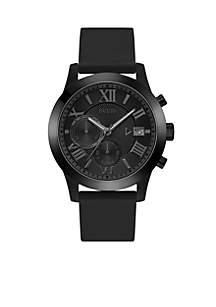 Black Classic Chronograph Watch