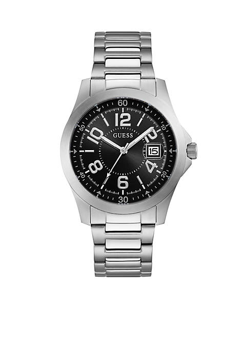 Stainless Steel Watch With Date