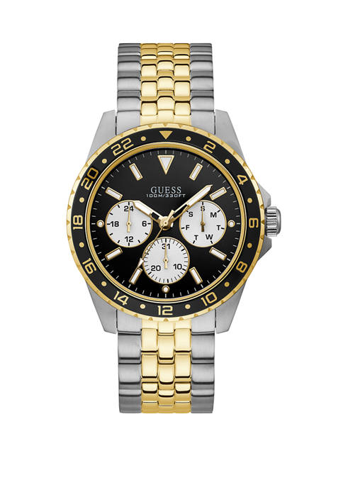 Mens Odyssey 2-Tone Multi Functional Watch