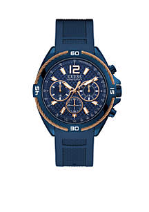 Surge Silicone Rose Gold Accent Watch