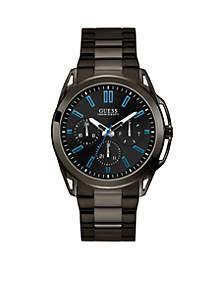 Vertex Gunmetal Bracelet Black Dial Watch