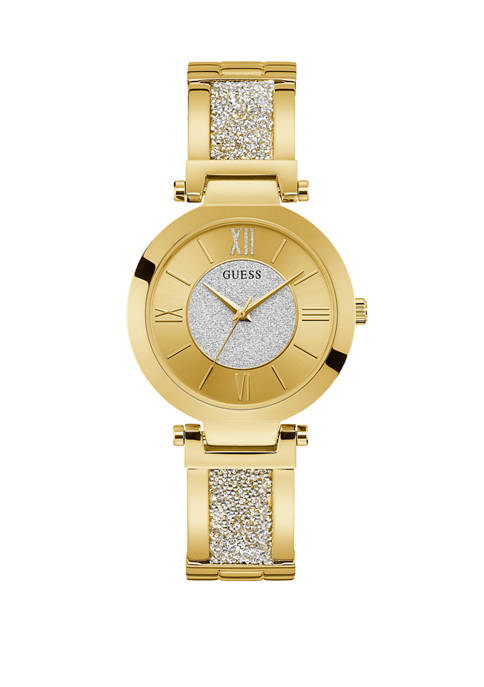 GUESS® Womens Aurora Gold Watch