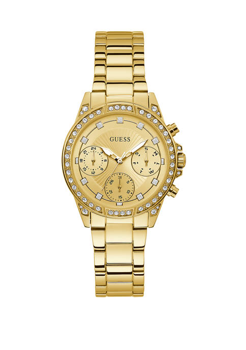 GUESS® Womens Sparkling Hi Energy Mid Size Watch