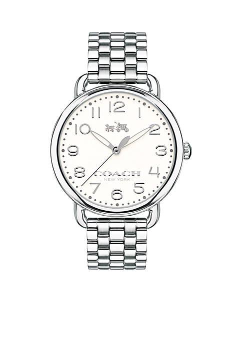 Delancey Stainless Steel Bracelet Watch