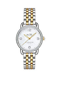 Women's Delancey Two-Tone Bracelet Watch