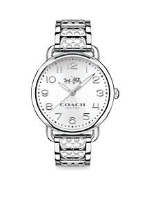 Women's Delancey Stainless Steel Bracelet Watch
