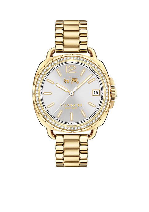Womens Tatum Gold-Tone Watch
