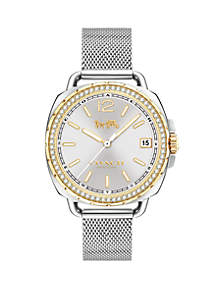 Women's Stainless Steel Tatum Mesh Bracelet Watch