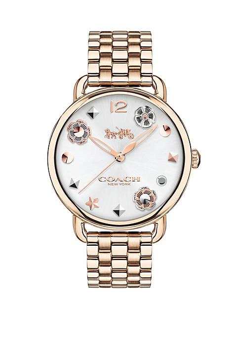 Womens Gold-tone Delancey Carnation Bracelet Watch