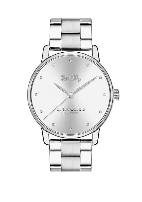 Womens Stainless Steel Grand Watch