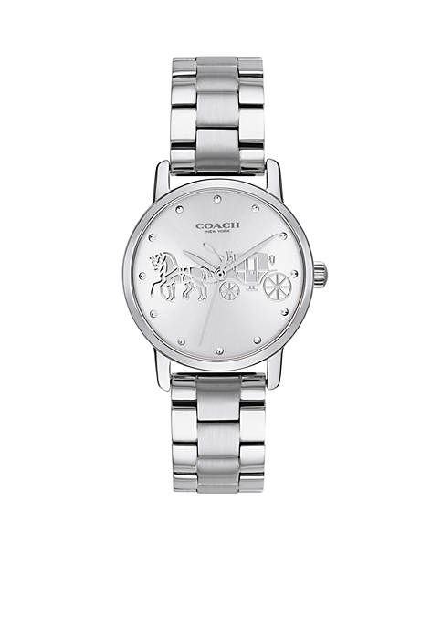 COACH Stainless Steel Grand Watch