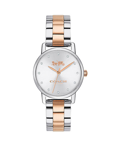 Womens Two-Tone Stainless Steel Grand Watch