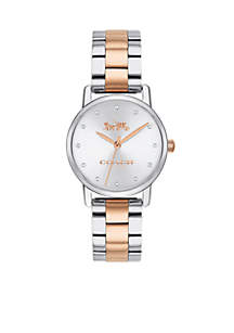 Women's Two-Tone Stainless Steel Grand Watch