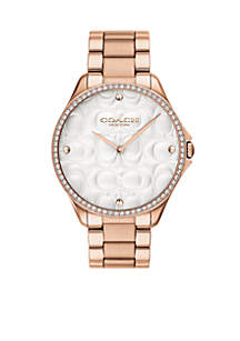 Women's Rose Gold-Tone Stainless Steel Astor Watch