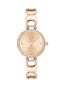 Gold-Tone Stainless Steel Park Signature C Bangle Watch