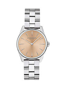 Stainless Steel Modern Luxury Bracelet Watch