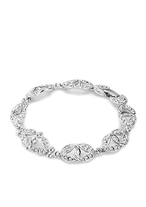 Carolee Ornate Crystal Bracelet