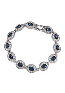 Simply Blue Crystal Bracelet