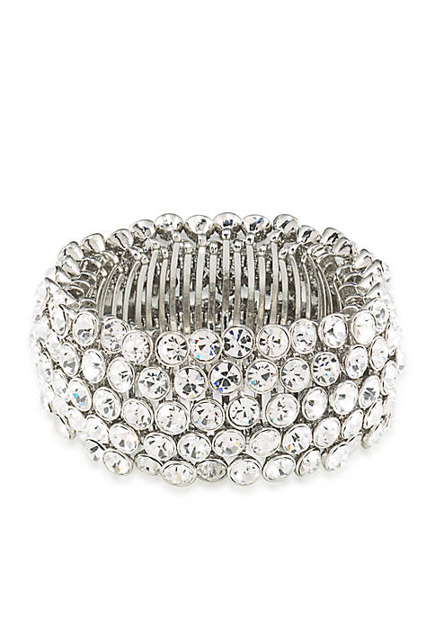 Carolee Broadway Lights Stretch Bracelet