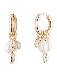 Pacific Pearl Hoop with Drop Earrings