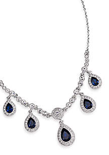 Carolee Simply Blue Crystal Jewelry Collection