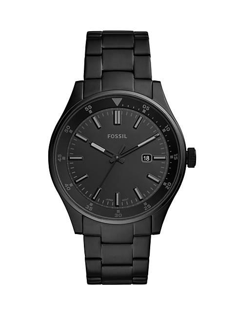 Belmar 3 Hand Date Stainless Steel Watch
