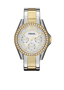 Women's Riley Two-Tone Glitz Watch