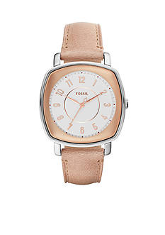 Fossil® Women's Idealist Three Hand Leather Watch