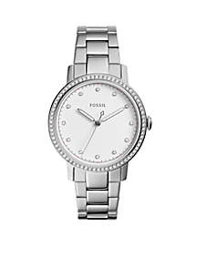 Fossil® Neely Three-Hand Stainless Steel Watch