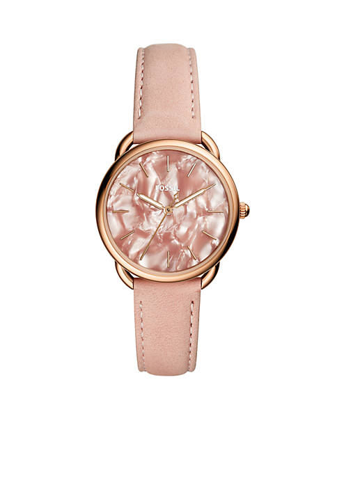 Fossil® Tailor Blush Leather Strap