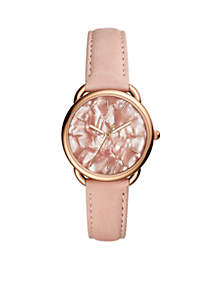 Tailor Blush Leather Strap