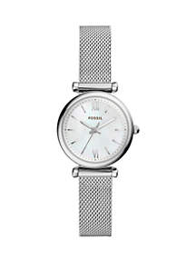 Stainless Steel Carlie Mini Dress Bracelet Watch