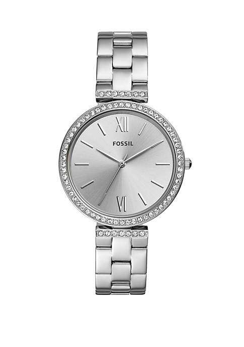 Fossil® Madeline Three-Hand Stainless Steel Watch