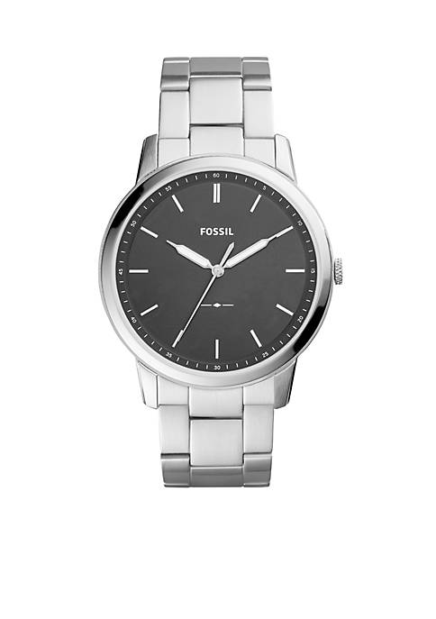 Fossil® The Minimalist Three-Hand Stainless Steel Watch