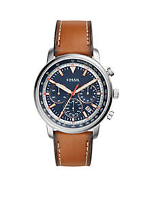 Men's Goodwin Chronograph Light Brown Leather Watch