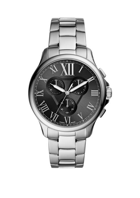 Fossil® Monty Chronograph Stainless Steel Watch