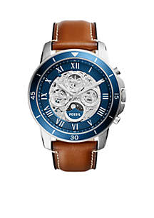 Fossil® Mens Grant Sport Automatic Luggage Watch