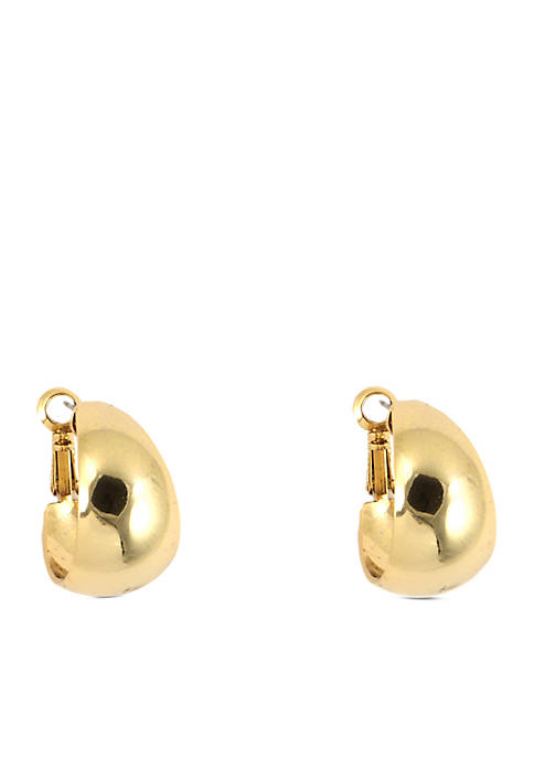 Anne Klein 14k Hoop Earrings