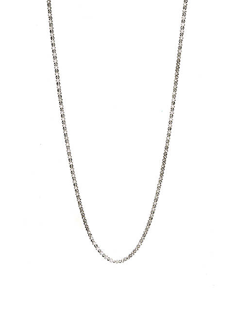 Anne Klein Long Tubular Necklace