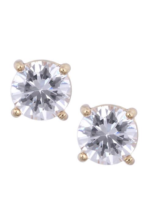 Anne Klein Crystal Stud Earring