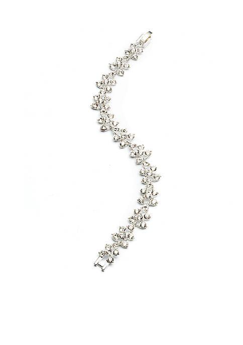Anne Klein Crystal Flex Bracelet