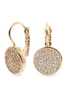Anne Klein Pave Drop Earring