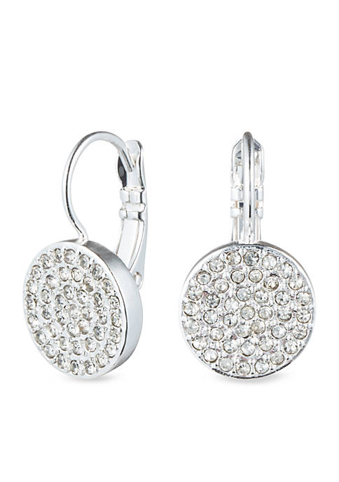 Anne Klein Pave Drop Earring