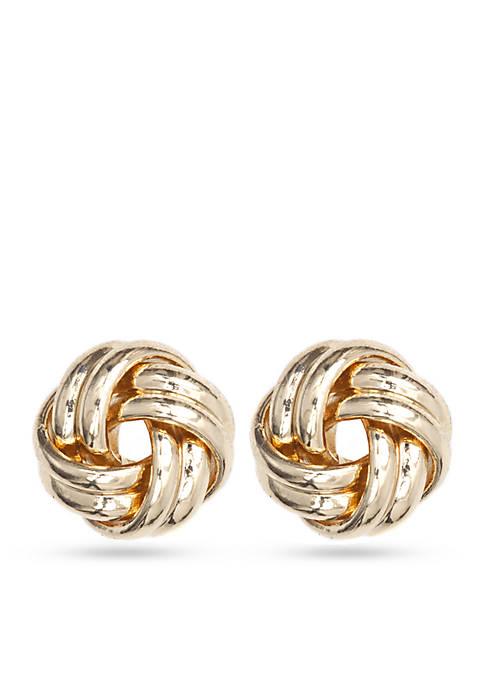 Anne Klein Sailors Knot Earrings