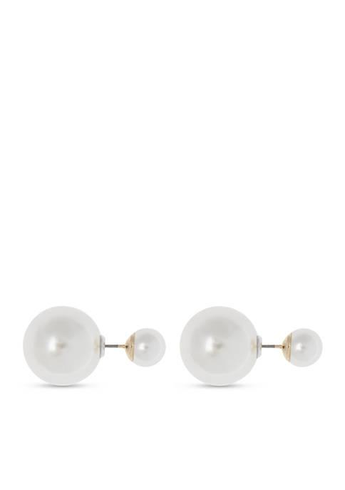 Pearl Double Earring